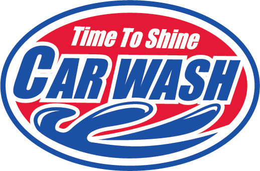 Time To Shine Car Wash Logo